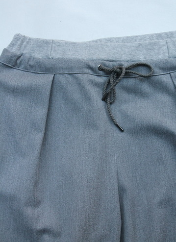 Le Ciel de Harriss T Rayon Tuck Easy Pants GREY (2)