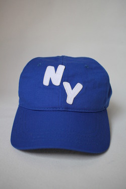 NEW ENGLAND CAP NY Logo Cap Royal