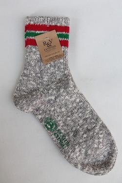 Nep 3 Line Socks GREY (3)