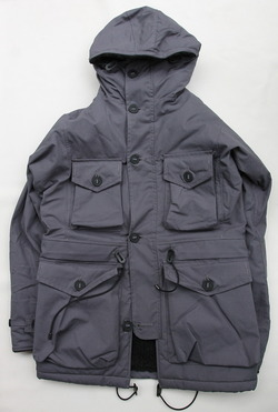 Ark Air Sheepskin Smock Solid Colour URBAN GREY