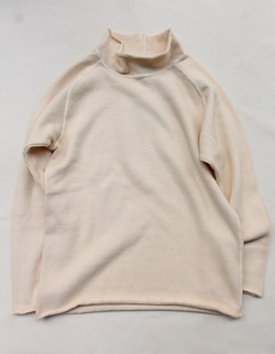 Goodon Bottle Neck Knit Cut P NATURAL