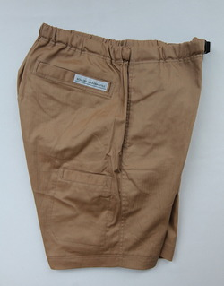 Boulder Mountain Style Cotton Shorts V TAN (2)