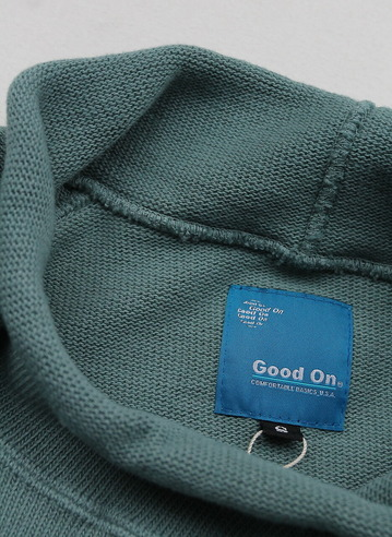 Goodon Bottle Neck Knit Cut G GREEN (4)