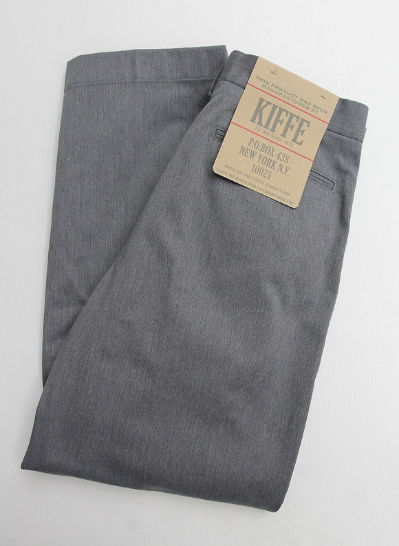 KIFFE Officer Wide Trousers Top GREY