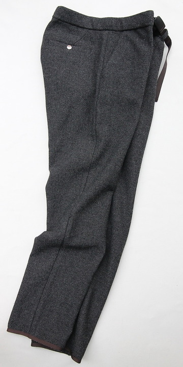 coochucamp Happy Slacks Pants GREY Tweed (3)