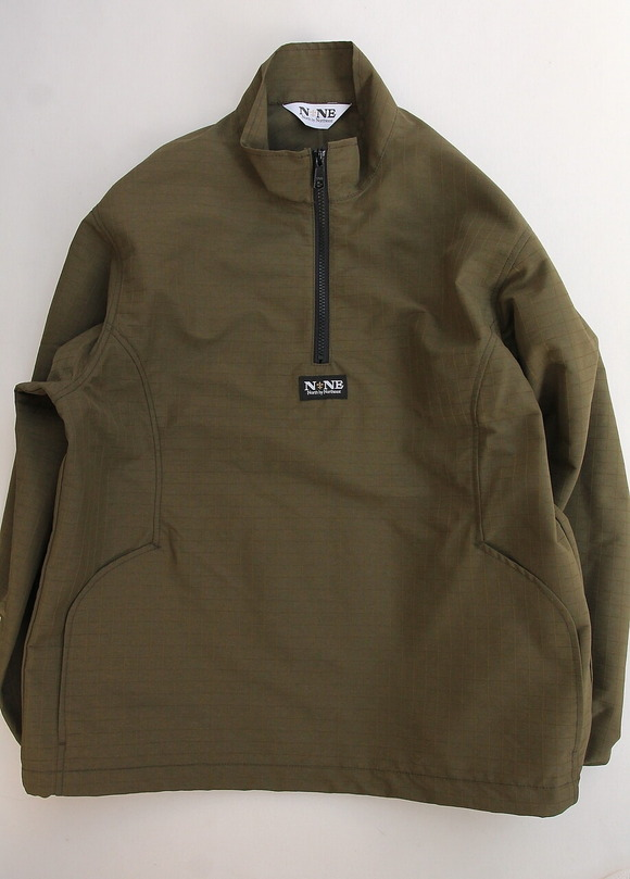 North by North East Rip Stop Pullover Jacket KHAKI