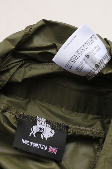Buffalo Wind Shirt with Unlined Hood OLIVE (5)