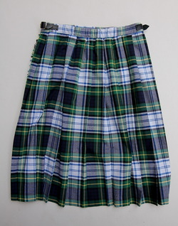 ONEIL of Dublin Kilt Midi NAVY Dress Stewart
