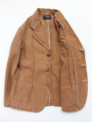 Carifornia Brand Brown Duck Blazer 3 Button (4)