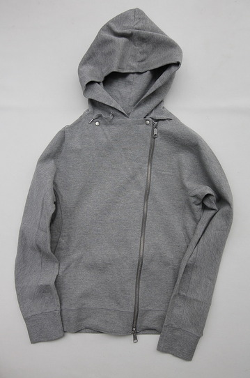 Rappeler Jersey Hooded Riders HEATHER GREY (2)