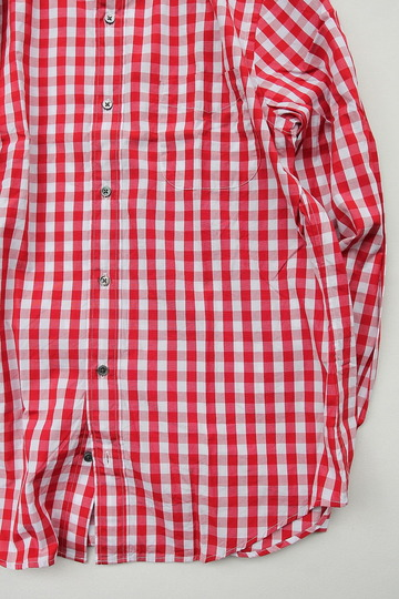 Harriss Big Gingham LS BD RED (3)