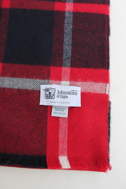 Johnstons Buffalo Check RED (3)