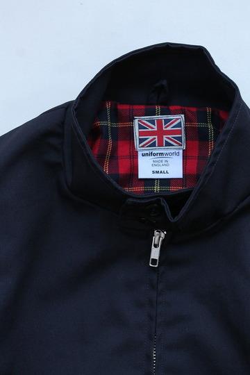 Uniform World Harrington Jacket NAVY (3)