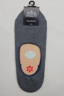 HALISON Organic Cotton Slip On Socks DENIM (2)