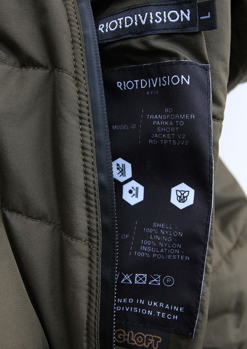 RIOT DIVISION Short Jacket to Parka GREEN (6)