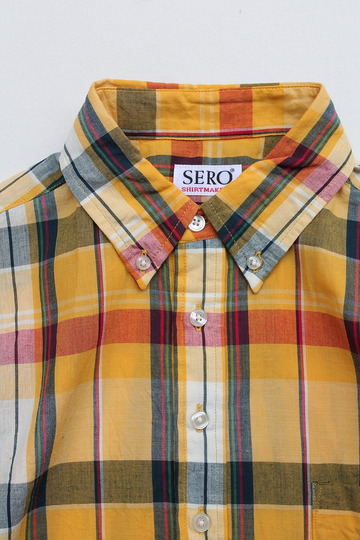 SERO PO Button Down Shirt SS ORANGE (3)