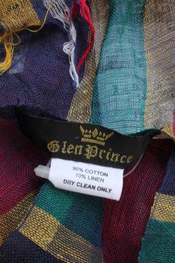 Glen Prince Cotton & Linnen Plaid (4)