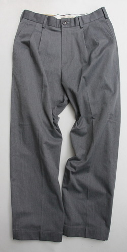 KIFFE Officer Wide Trousers Top GREY (4)