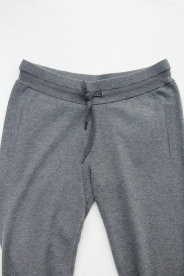 YaYa Wool Sweat Pants DARK GREY MELANGE (4)
