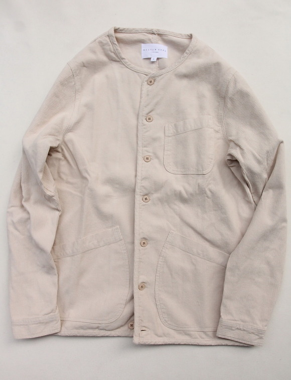KESTIN HARE Neist Overshirt Cord WINTER WHITE