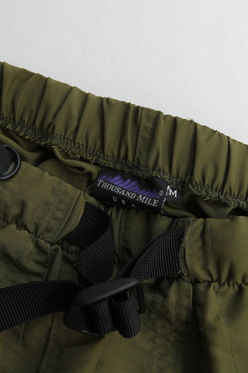 Thousand Mile Wall Shorts OLIVE (2)