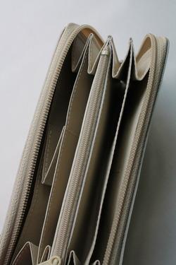 NOUN Leather Long Wallet ECRU (4)