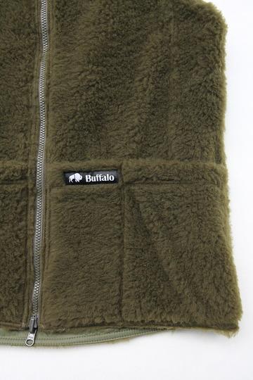 Buffalo Reversible Belay Vest OLIVE OLIVE (8)