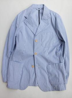 HYPERION Code Lane 3 Button Blazer BLUE