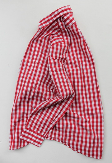 Harriss Big Gingham LS BD RED (5)