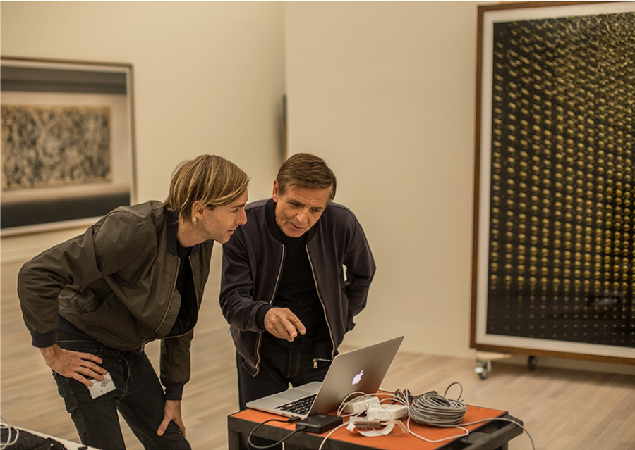 Richie Hawtin & Andreas Gursky