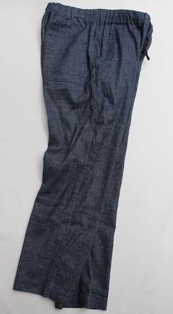 eterno Linen Easy Pants BLUE (5)