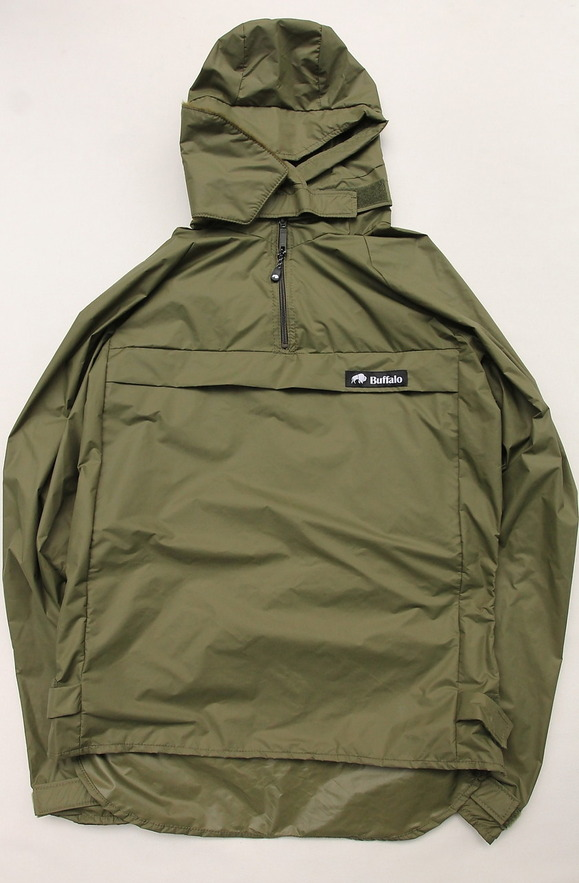 Buffalo Wind Shirt with Unlined Hood OLIVE