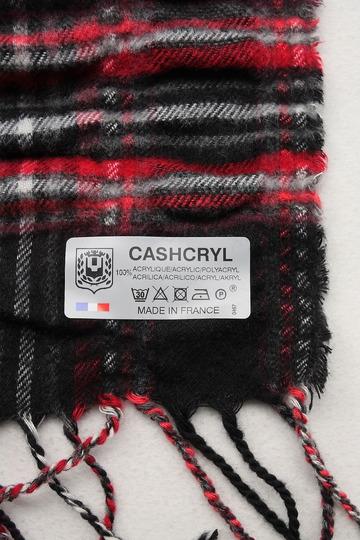 Cashcryl Plaid RED X BLACK (3)