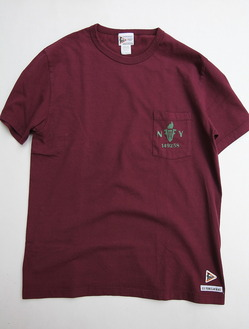 Felco Pocket Tee Printed WINE