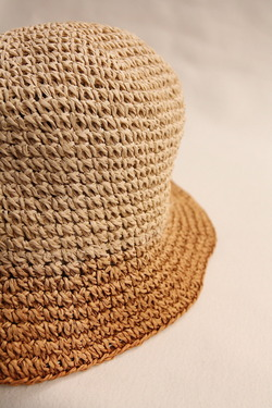SIGNA 1925 Gradation Paper Hat NATURAL BEIGE (2)