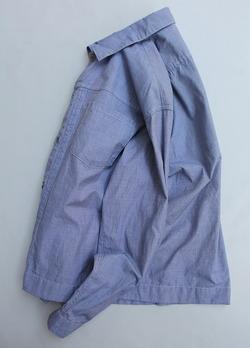 Vincent et Mireille G Shirt Yarn Dyed Broad End on End (5)