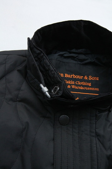 Barbour Beacon Heritage Collection Riders BLACK (2)