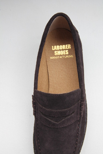 LABORRER SHOES Mudgard Loafer BROWN (7)