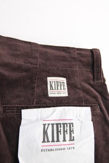 KIFFE Corduroy Mens Anckle Tpd DK BROWN (3)