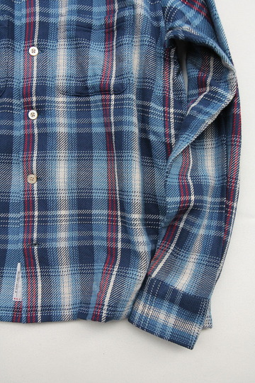 Keaton Chase Japan LS Camp Shirts BLUE (4)