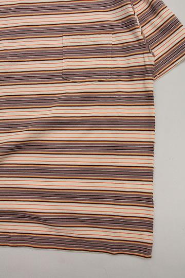 Felco SS Stripe T American Multi Stripe BEIGE (3)
