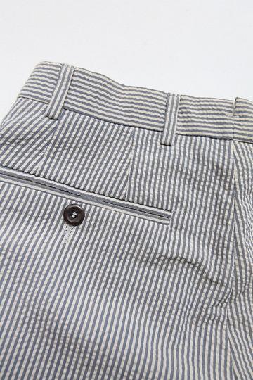 Mabitex Seersucker Tepered Pants BEIGE X GREY (3)