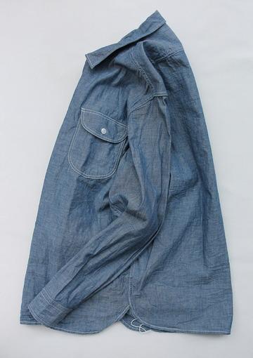 EMPIRE & SONS LS Camp Shirt Chambray BLUE (5)