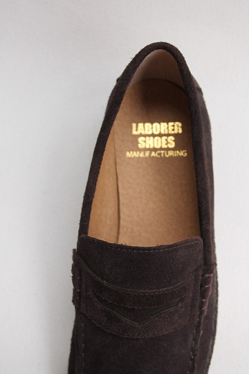LABORRER SHOES Mudguard Loafer BROWN (6)
