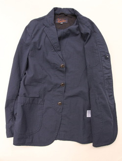 Candidum Seersucker Shirt Jacket NAVY (4)
