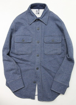 Chums Sweat CPO Shirt H NAVY