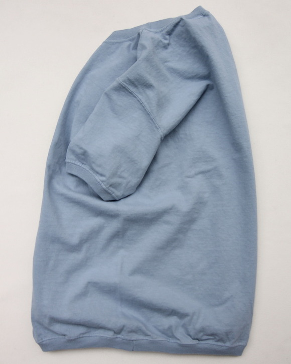 Goodwear Rib Tee SS STEEL BLUE (2)