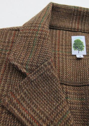 Arbre 07145 Moss Green Check Tweed (4)