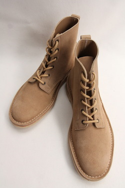 Suffolk Shoes Desert Hi Top SAND Suede (3)