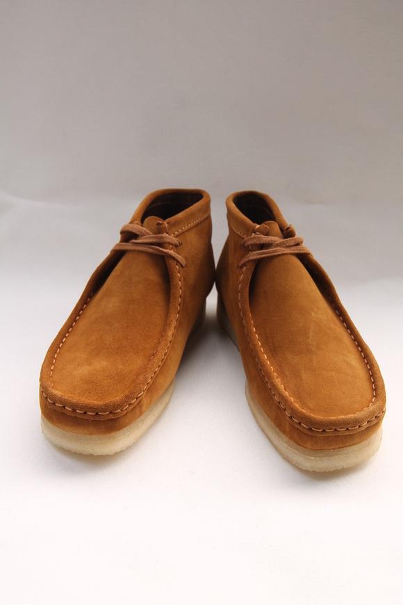 Clarks Wallabee Boot BRONZE (10)